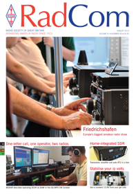 RadCom August 2015, Vol. 91, No. 8
