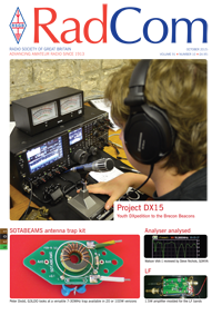 RadCom October 2015, Vol. 91, No. 10