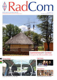 RadCom September 2015, Vol. 91, No. 9